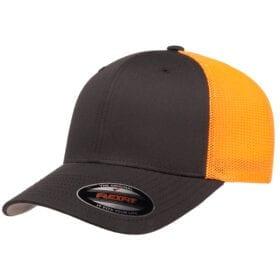 6511T-Charcoal/Neon Orange