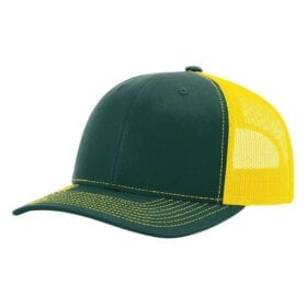112-Dark Green/Yellow