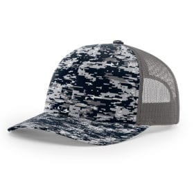 112P-Navy Digital Camo/Charcoal